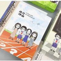 同学录小学生 校园可爱少女心卡通同学录韩版女学生六年级毕业纪念册活页