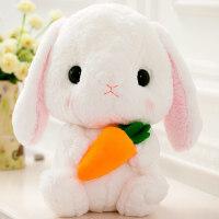 可爱毛绒玩具小白兔子布娃娃长耳兔玩偶兔兔抱枕女生日