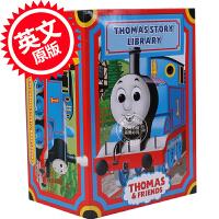 现货 托马斯和他的朋友们套装 英文原版 My Thomas Story Library Train 托马斯经典故事集图