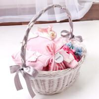 新生儿礼盒春夏婴儿用品纯棉衣服套装03个月送宝宝初生满月礼盒
