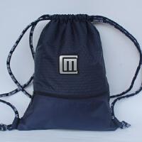 旅行背包简易束口足球包袋户外运动篮球包健身训练双肩包男女