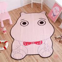 创意家居鳄鱼企鹅老虎造型地垫装饰地毯宝宝爬行垫游戏垫客厅卧室 小号100*140cm