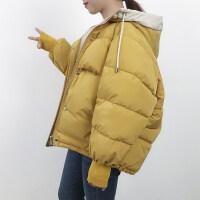 ins面包服棉衣服女冬装短款棉袄韩版羽绒外套潮