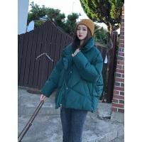 羽绒外套女短款冬季韩版学生加厚面包服棉衣chic棉袄