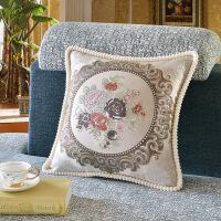 欧式抱枕套真皮沙发抱枕靠垫含芯客厅沙发靠枕大号家用办公午睡枕
