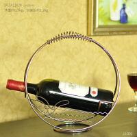 创意红酒架简约欧式葡萄酒瓶杯架家居客厅酒柜摆件装饰品客厅摆设
