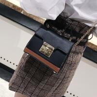 手提包女韩版新款多层单肩包斜挎包简约休闲少女百搭链条包包