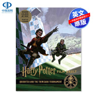 英文原版 Harry Potter: Film Vault Volume 7 哈利波特电影系列丛书第7卷 魁地奇与三强争