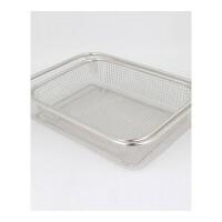 加厚果篮厨房洗菜篮长方形过滤网篮沥水篮水果篮果盘漏盆
