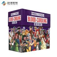 Blood-Curdling 可怕的历史20册套装  原版进口 儿童科普课外学习章节书 插图故事书