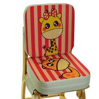 卡通儿童餐椅增高坐垫小学生坐垫宝宝安全椅垫座椅加厚加高椅子垫 39X39cm
