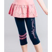 【3件3折:49.2元】暇步士童装女童夏季新款时尚印花七分打底裤