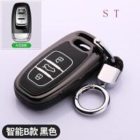 奥迪钥匙包A6L新款A4L真皮套Q5Q3A3Q7A7A8L专用汽车钥匙扣壳女士