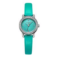 新品聚利时手表女专柜正品学生潮流时尚镶钻皮带小表石英女表1029