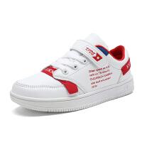 【1件3折】儿童运动鞋女小白鞋男童休闲板鞋2021春季新款小童中大童秋款女童N61