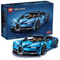 【当当自营】LEGO乐高机械组系列42083布加迪奇龙chiron小颗粒积木