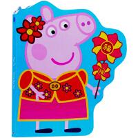 英文原版绘本 Peppa Pig粉红猪小妹 小猪佩奇主题的书 英语启蒙图书纸板书 Chinese New Year 新