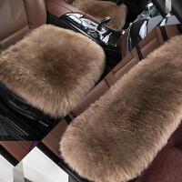 新款长羊毛三件套免捆绑小三件后排皮毛一体前排单片冬季汽车坐垫