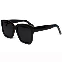 新款偏光太阳镜韩国网红明星同款个性开车大框圆脸黑超墨镜潮男女