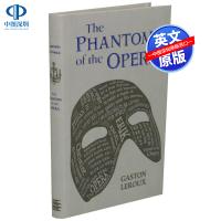 【预售英文原版】卡斯顿勒胡 歌剧魅影 Word Cloud Classics The Phantom Of The Op