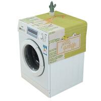 滚筒洗衣机罩单开门冰箱罩防尘防晒盖布防水棉麻盖巾床头柜盖布