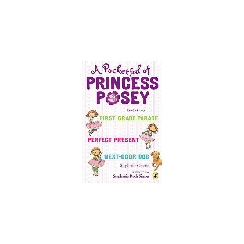 【预订】A Pocketful of Princess Posey: Princess Posey, First Grader Books 1-3 美国库房发货,通常付款后3-5周到货!