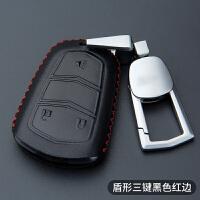 汽车钥匙包专用于凯迪拉克ATSL XTS SRX CT6 XT5真皮遥控钥匙套扣