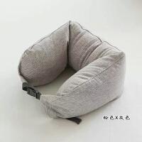 乳胶颗粒U型枕办公午睡枕旅行枕护颈枕记忆枕头 舒适单人枕