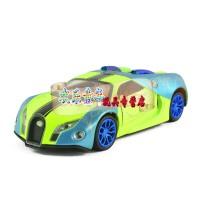 彩珀布加迪威龙GT跑车1:32合金汽车模型玩具金属小汽车 布加迪电镀绿色 布加迪电镀紫色 布加迪电镀桔色