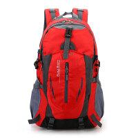 户外运动休闲旅游背包双肩包男士防水书包大容量登山包女款旅行包 36-55升