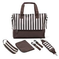 时尚大号妈咪包手提包防水多功能妈妈婴儿外出包手拎包母婴包轻便