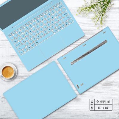 电脑贴纸联想笔记本贴膜14寸华硕惠普戴尔外壳15.6保护膜小米13.3