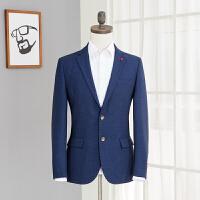 男士外套休闲小西装修身小西服男装青年春秋装西上衣 西011A 半衬