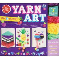 英文原版 毛线编织艺术 Klutz儿童手工书 DIY装饰品 培养动手能力 Yarn Art