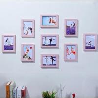 相框/照片墙壁挂式木质儿童房简单房子家庭挂壁相册相框照片墙北欧幼儿园