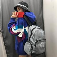 书包女韩版潮原宿ulzzang高中学生双肩包新款百搭大容量街拍背包