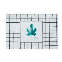 田园绿植棉麻防水双层餐垫隔热垫布艺餐桌垫布长方形桌垫杯垫 40x28cm