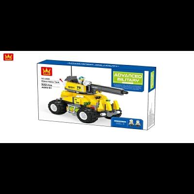 万格 随心拼积木玩具 儿童大颗粒小套装益智拼装拼插组装玩具3668