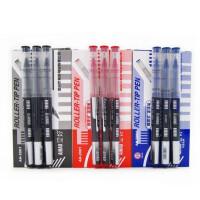 爱好直液式中性笔 彩色走珠笔 子弹头/全针管0.5mm签字水笔 笔12支装 多款选择 替芯20支装