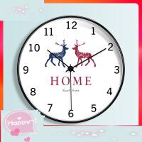 【支持礼品卡】挂钟客厅个性创意时尚大气时钟家用北欧卧室现代简约艺术静音钟表4ta