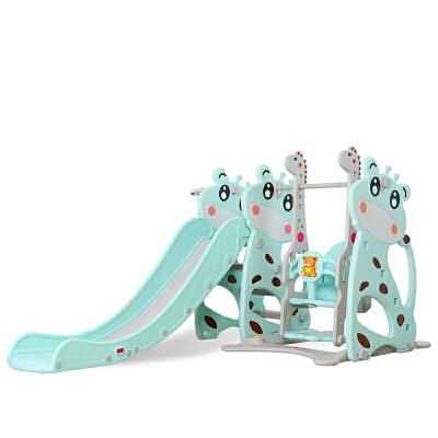 儿童滑梯室内婴儿家用多功能滑滑梯宝宝组合滑梯秋千塑料玩具加厚 抖音