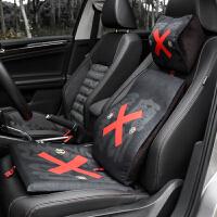 记忆棉汽车用头枕腰靠套装车载枕头垫创意车内用品