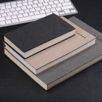 笔记本a5办公用大日记本复古加厚工作记事本文具商务定制本子B5笔记本子A6小随身记录本定做订做LOGO