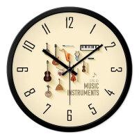 挂钟客厅卧室创意现代简约静音时钟石英钟挂表圆形