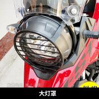 适用于铃木DL250保险杠不锈钢前护杠后护杠全包围防摔竞技杠改装