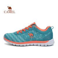 【每满100减50】骆驼运动鞋网布透气跑鞋 女士徒步出游低帮休闲跑步鞋