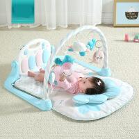 ?KUB可优比婴儿脚踏钢琴健身架0-1岁宝宝音乐游戏毯新生儿玩具