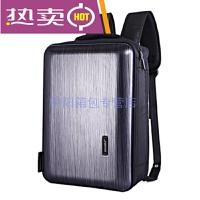 新款时尚商务出差旅行背包硬壳大容量行李包电脑包男女款手提斜跨两用双肩多功能背包