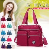 新款冬款潮流日韩版女包单肩包手提斜挎大包包尼龙帆布旅行包