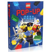 [现货]乐高立体书 英文原版 LEGO Pop-Up 变形金刚作者大师MatthewReinhart新作 幻影忍者 未来骑士团 恐龙城堡 趣味英雄场景故事 3D立体儿童教科 动手操作能力 创意亲子玩具
